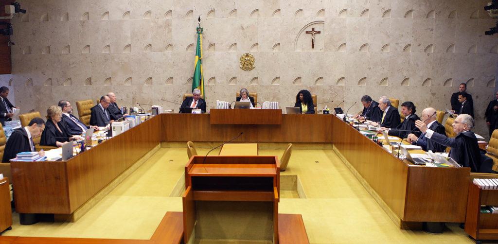 Sessão do Supremo do dia 5 de outubro que manteve a prisão em 2ª instância.